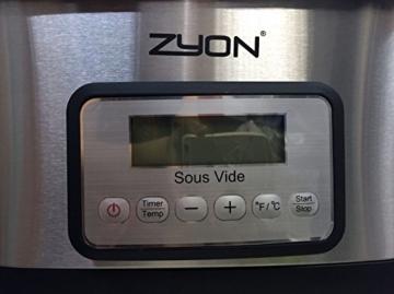 vakuum garer gerät zyon
