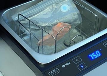 caso 1305 sous vide center sv1000 vakuumierer und sous vide garer in einem ger t sous vide. Black Bedroom Furniture Sets. Home Design Ideas