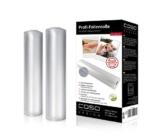 CASO Profi- Folienrollen 28x600 cm (1223) / 2 Rollen für alle Balken Vakuumierer geeignet / Kochfest - Mikrowellen geeignet - Sous Vide geeignet / stabile Schweißnaht -