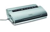 CASO VC 300 Vakuumierer mit Folienbox und Cutter (1392) / regulierbare Vakuumstärke/ doppelte Schweißnaht / natürliches Aufbewahren ohne Konservierungsstoffe / inkl. 2 Profi-Folienrollen & Vakuumiersachlauch für Behälter -