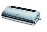 Caso VC100 1380 Vakuumierer (120W, 300mm Rollenbreite, Vakuumregulierung, inkl. 10 Beutel) silber -