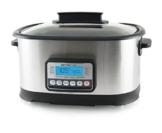 Emerio SC-110627 Sous Vide Niedrigtemperaturgarer, Multikocher mit einer Temperatur von 45-200Grad, Dampfgarer mit 1500Watt, Sous vide-Funktion, auch optimal als Reiskocher -