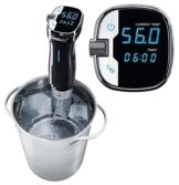 Hochwertiger Sous Vide Stick 8,0 l/min Garer Edelstahl +/- 0,5 °C -