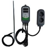 "Inkbird ITC-308S Digitaler Temperaturregler Thermostat Dual Steckerthermostat , 12"" Lange Edelstahl NTC-Sensor, 1,97"" Sensor Sonde (ITC-308S + 12"" 30cm Rostfrei Lange NTC Sensor) -"