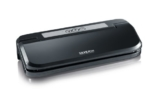 Severin FS 3609 Vakuumiergerät zum Sous-Vide Dampfgaren, schwarz / silber -