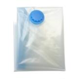 Sonline 3x housse rangement sous vide aspirateur Sack Kompressions etanche vetement Taille: XXXL 100 x 80 cm -