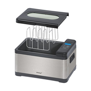 Sous Vide Komplettset 10L + Vakuumiergerät + Vakuumbeutel Garer Niedertemperatur -