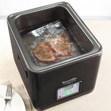 sous vide supreme schwarz 8 7 liter kocher ger t garer niedertemperaturgarer sous vide garer. Black Bedroom Furniture Sets. Home Design Ideas